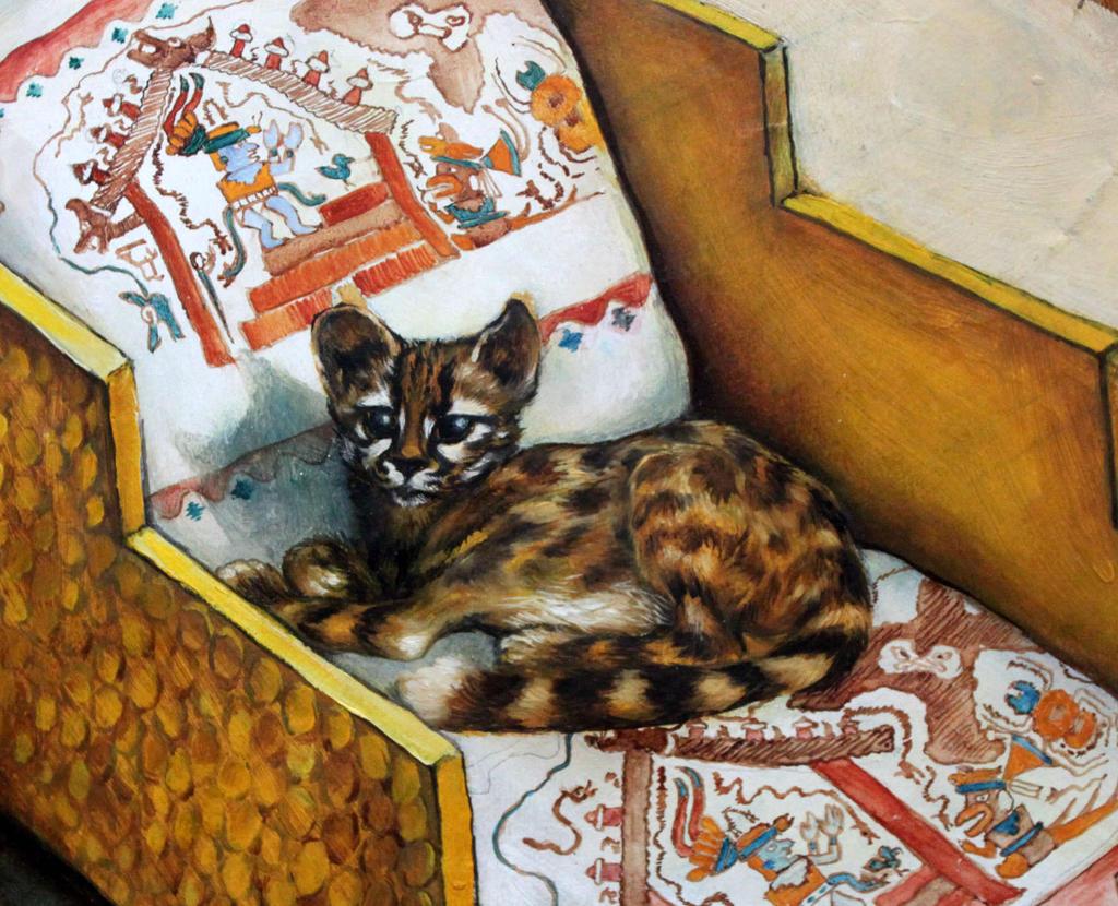 The Lord's Pet, Moche, Peru, AD 700