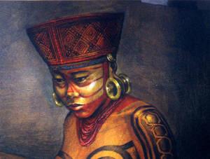 Mora Queen, AD 800-1200, Costa Rica