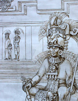 Zapotec King, Oaxaca, Mexico, AD 700