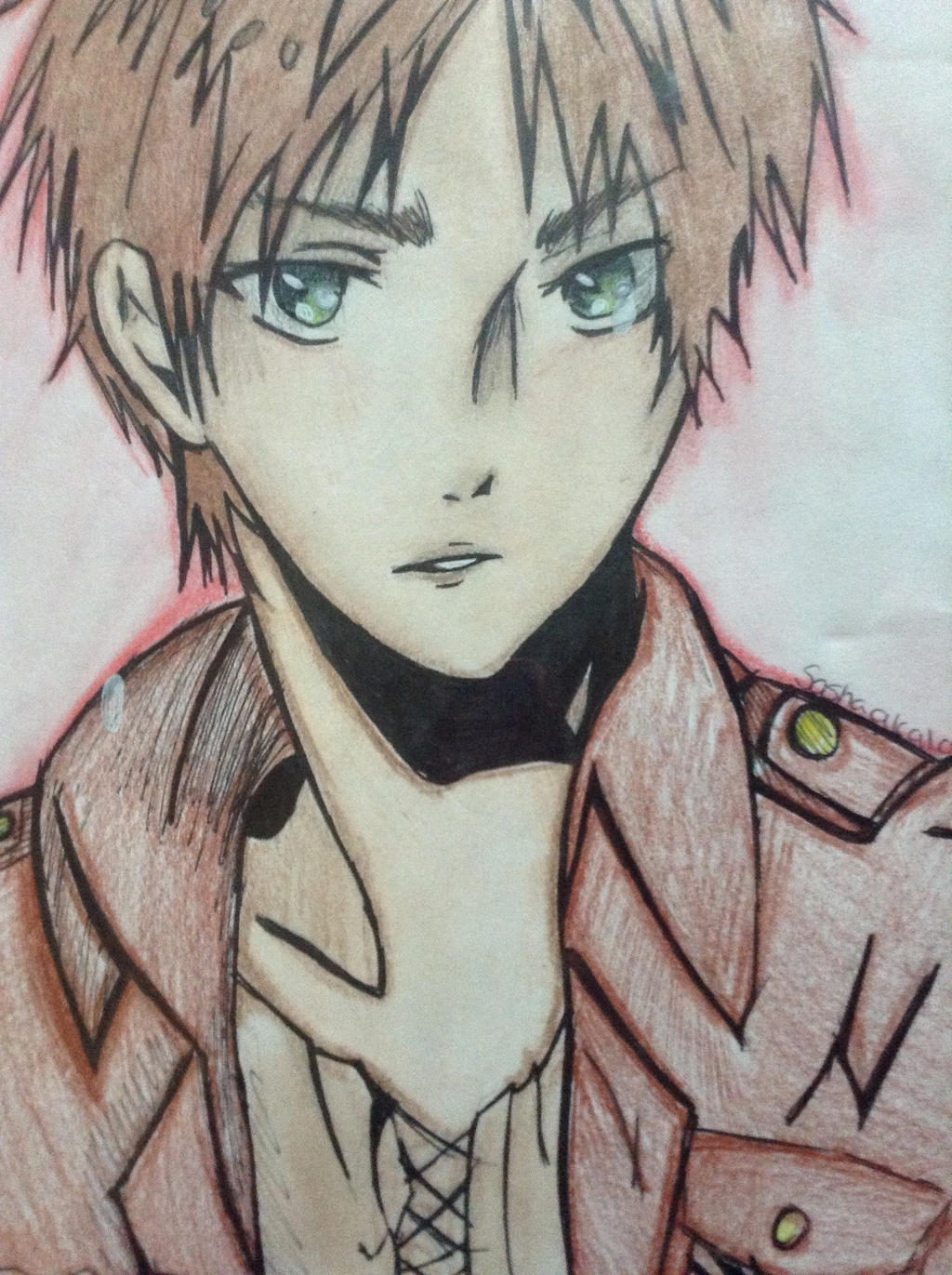 Eren jaeger drawing - photo#17