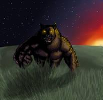 Feh. Werewolf. by gyerfry-the-wolf