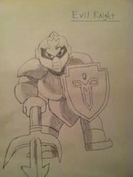 Linktober2017 Day 26 - Evil Knight by ChaudTheGamer