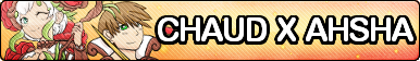 Chaud x Ahsha Fan Button by ChaudTheGamer