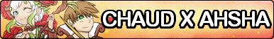 Chaud x Ahsha Fan Button by ChaudTheGamer