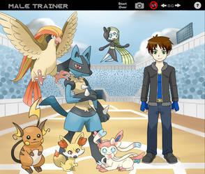 Chaud the Pokemon Trainer by ChaudTheGamer