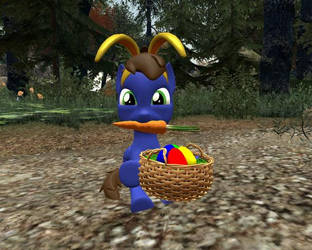 Happy Easter from Little Chaud by ChaudTheGamer