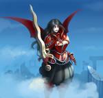 Eleonore (my char for fantasy setting)
