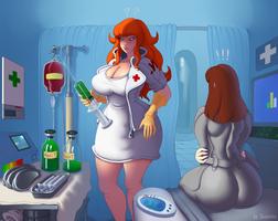 Janette nurse medical ss13 ss 13 space station 13