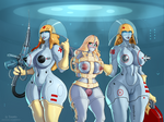 Robo Nurses and Medical Experiment by Xianetta
