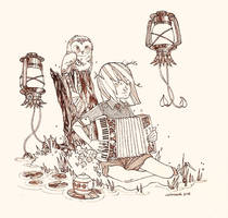 Songs for Swamp Creatures by curiousmoth