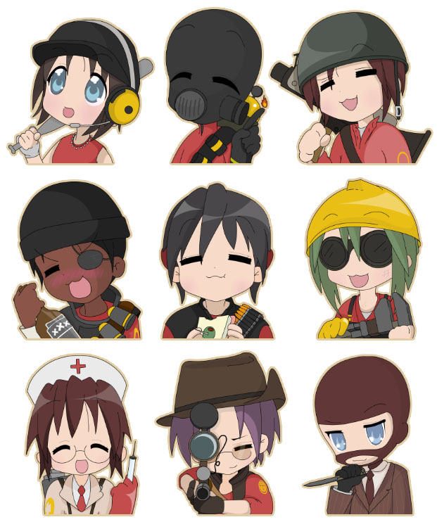 Team Fortress 2: Lucky Star by KaPoTun