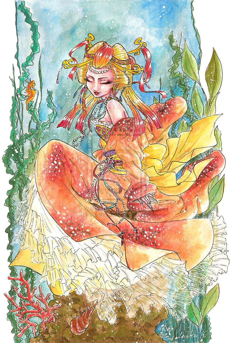 Lady Koi by Valendra