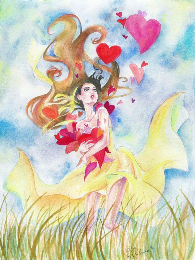 Love Flies by Valendra