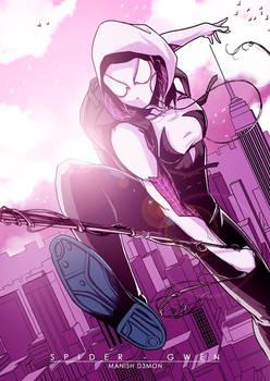 Spider-gwen Fanart