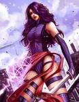 Psylocke fan art
