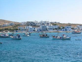 Greek sea colours
