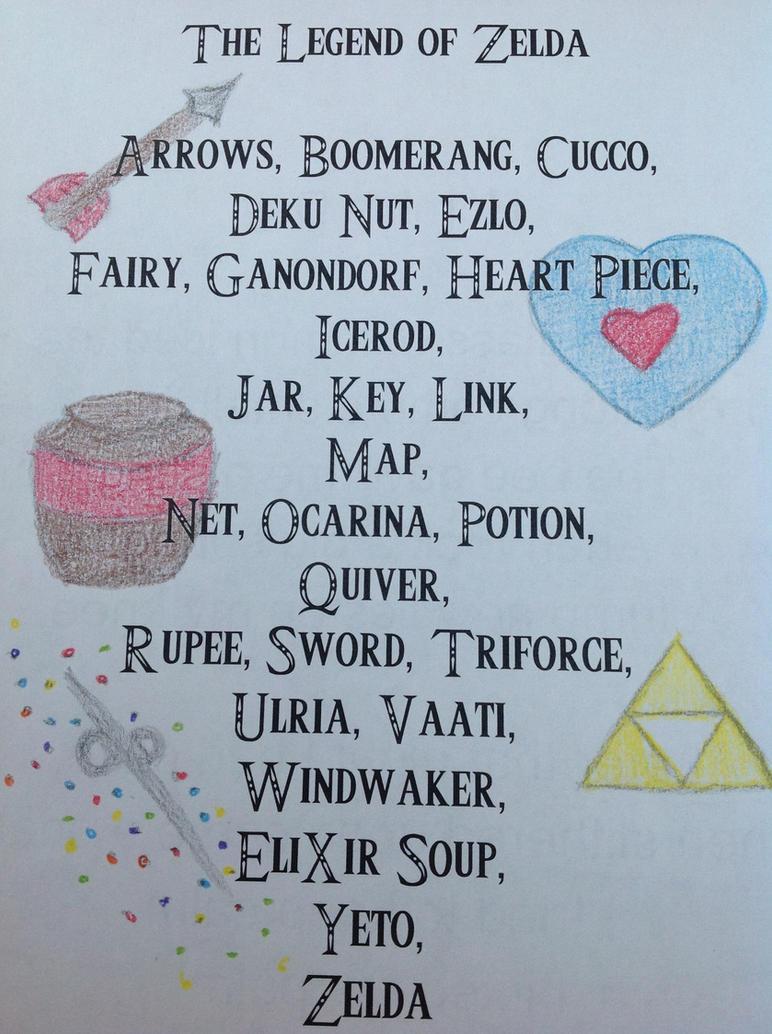 Zelda Alphabet ... D Alphabet Wallpaper