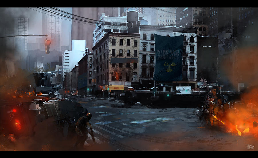 Dark Zone by ilker-yuksel
