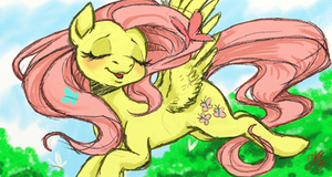 Fluttershy by CASHMONE7