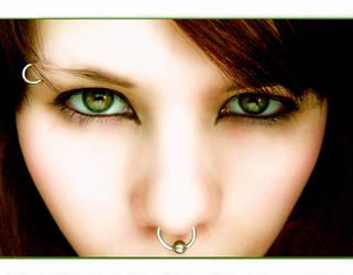 .gaze. by abandoned-essence