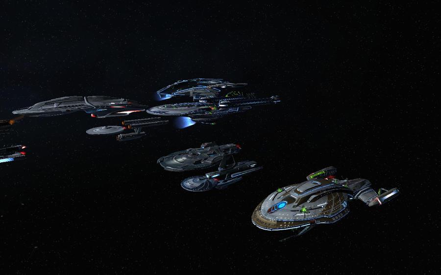 Startrek vaisseaux Spatiaux by VMJML1er