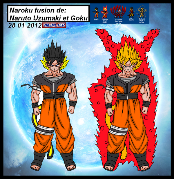 Naruto And Goku Fusion Fanfiction - 0425