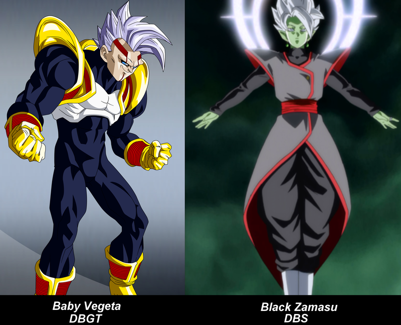 Baby Vegeta,Black Zamasu by VMJML1er on DeviantArt