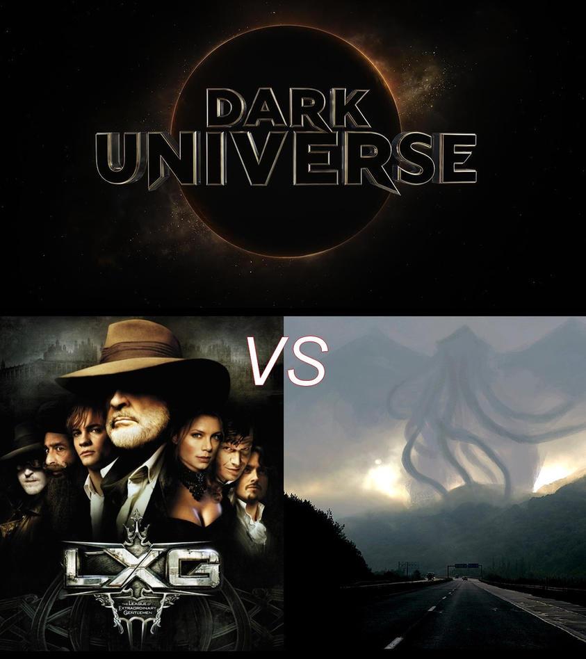 dark universe ligue des gentlemen vs cthulhu by vmjml1er on deviantart. Black Bedroom Furniture Sets. Home Design Ideas