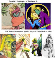 XTC,fille de Supergirl et Brainiac 5 by VMJML1er