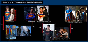 What if,et si,Famille dynastie Superman by VMJML1er