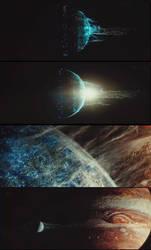 THE WANDERING EARTH,terre vaisseau spatial by VMJML1er