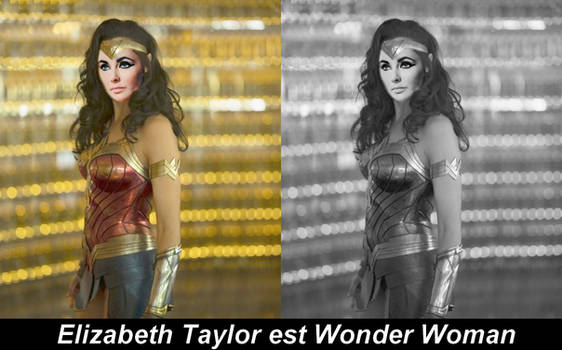 Elizabeth Taylor Wonder Woman