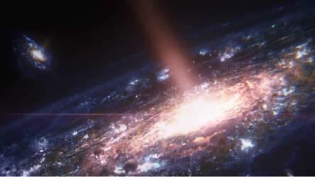 Galaxie,etoiles, by VMJML1er