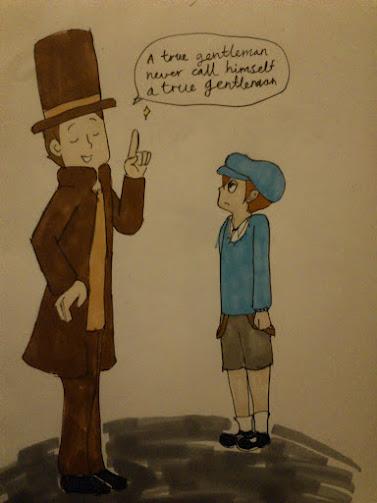 NO 002 a true gentlemann by Chibiklompen