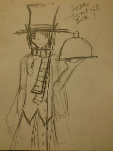 Top hatted by Chibiklompen