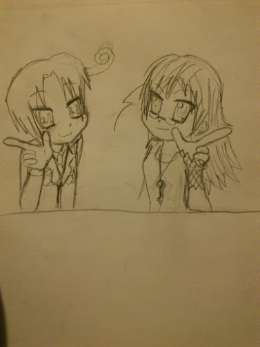 Its me and italy!! by Chibiklompen