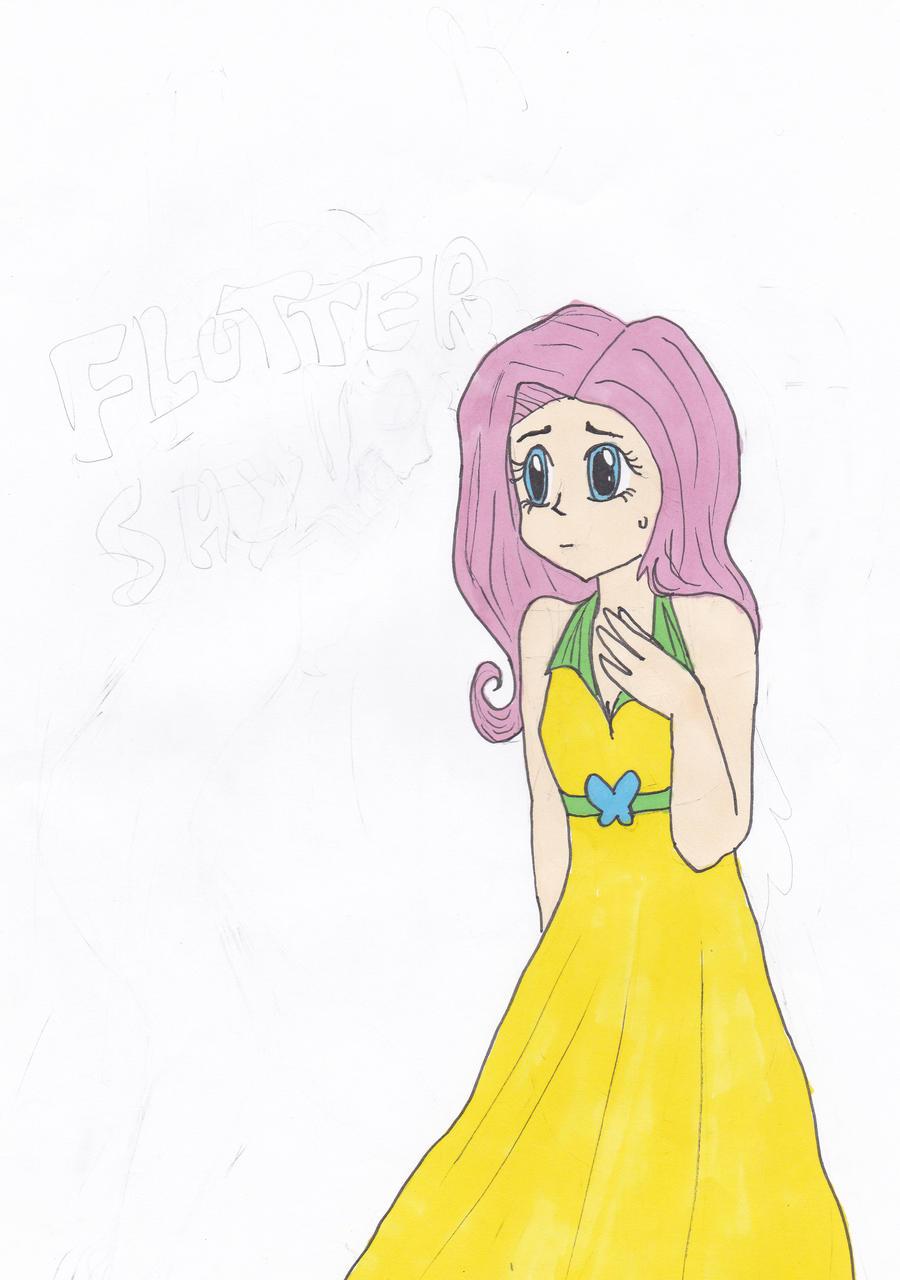 fluttershy by Chibiklompen
