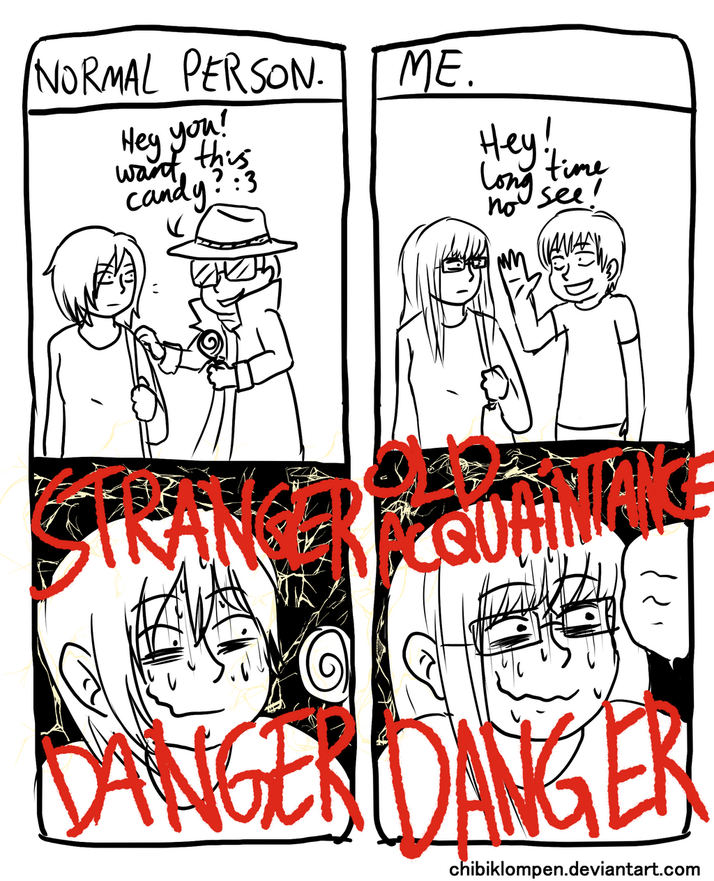 stranger danger by Chibiklompen