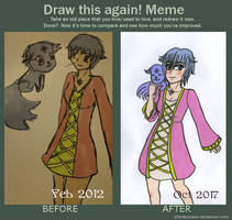 Draw again by Chibiklompen