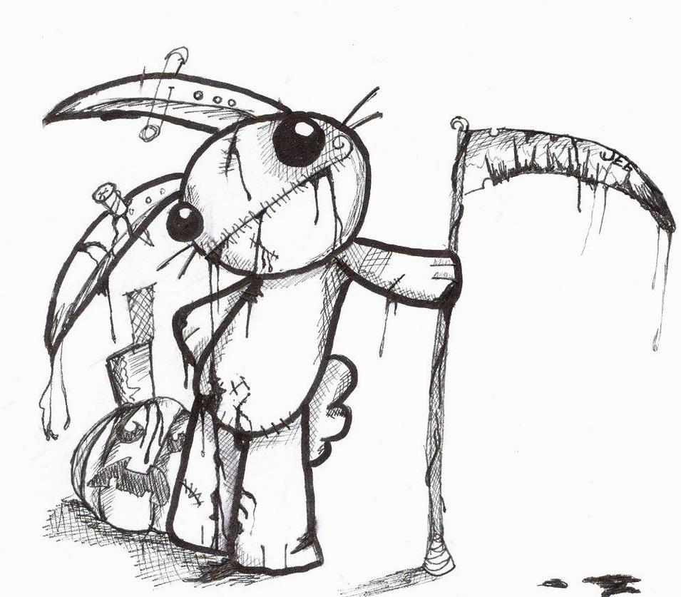 Zombie Bunny by Zombine