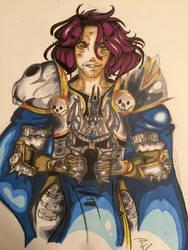 Ardyn Izunia the lich king by DoodleBunBun