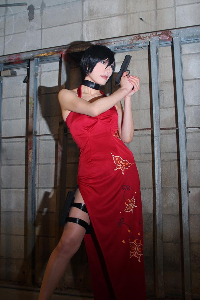 Resident Evil 4 Ada Wong by aoi-takamura