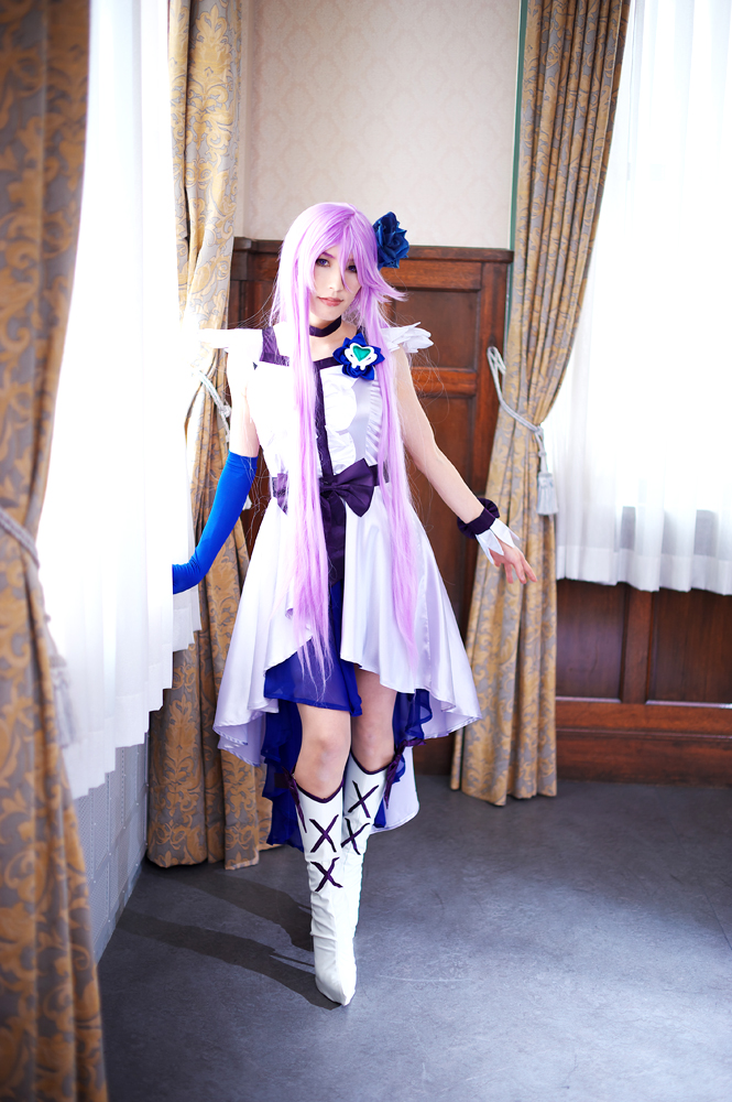Cure Moonlight cosplay  Heart Catch Pretty Cure! by aoi-takamura