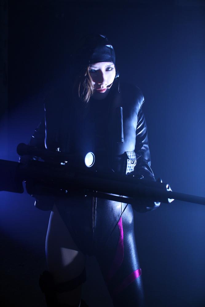jessica sherawat cosplay : Resident Evil Revelatio by aoi-takamura