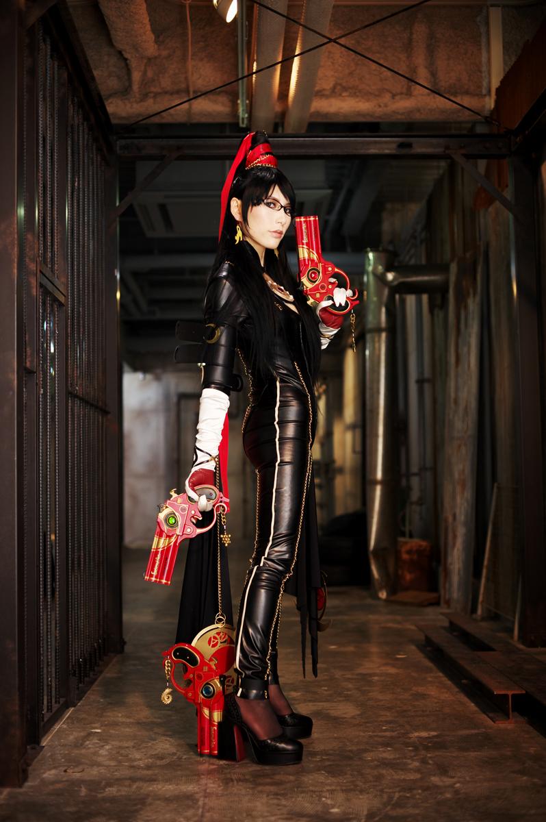 bayonetta cosplay by aoi-takamura