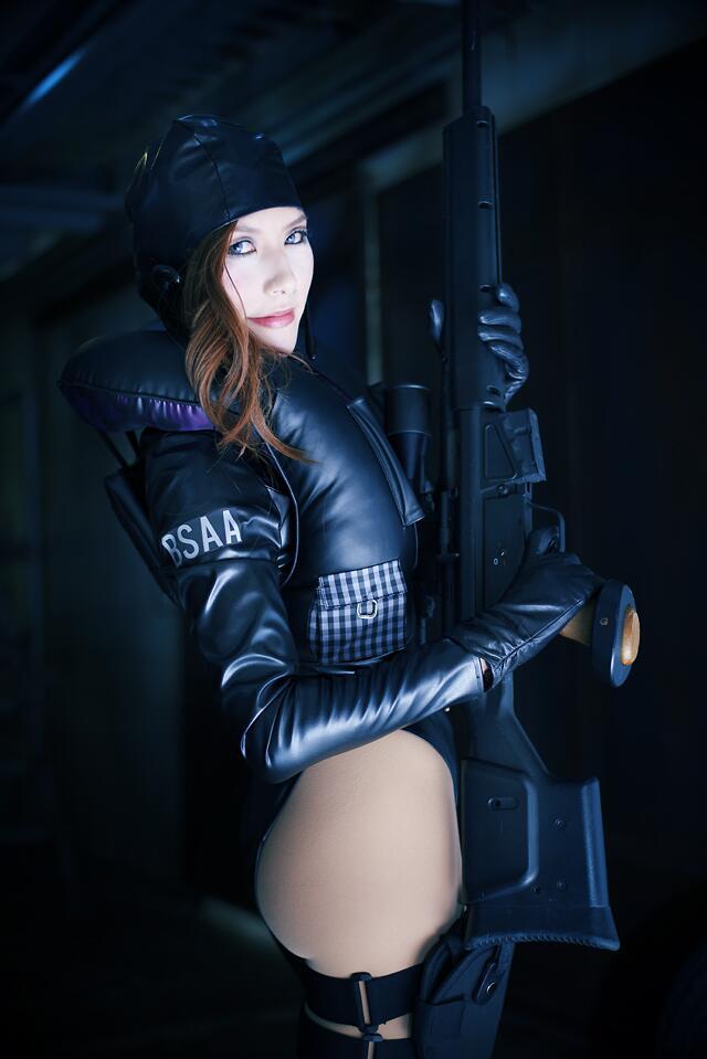 jessica cosplay : Resident Evil Revelations by aoi-takamura