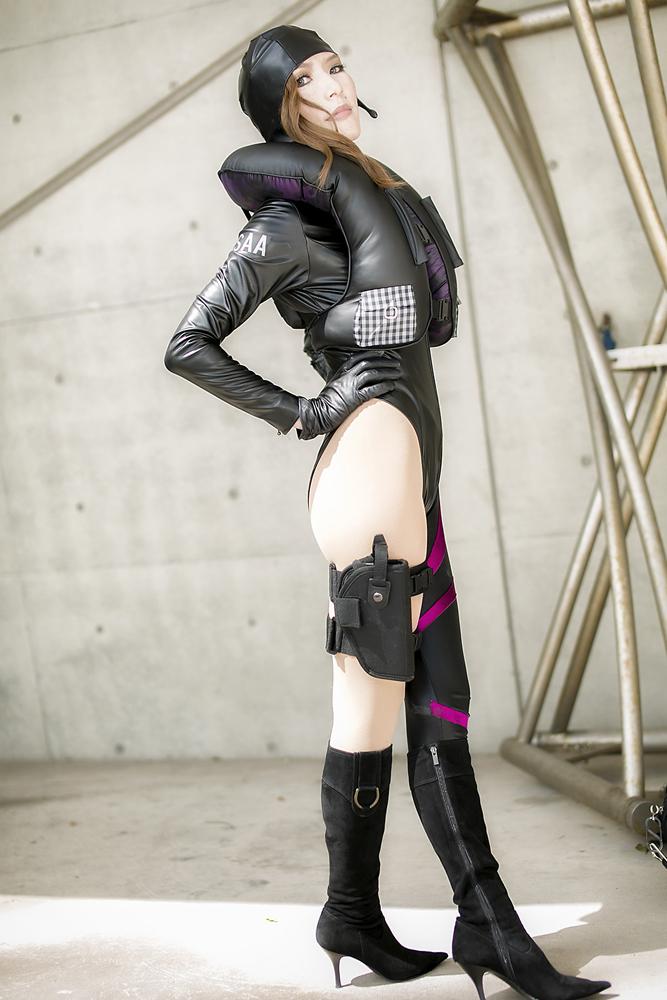 Resident Evil Revelations  jessica sherawat by aoi-takamura