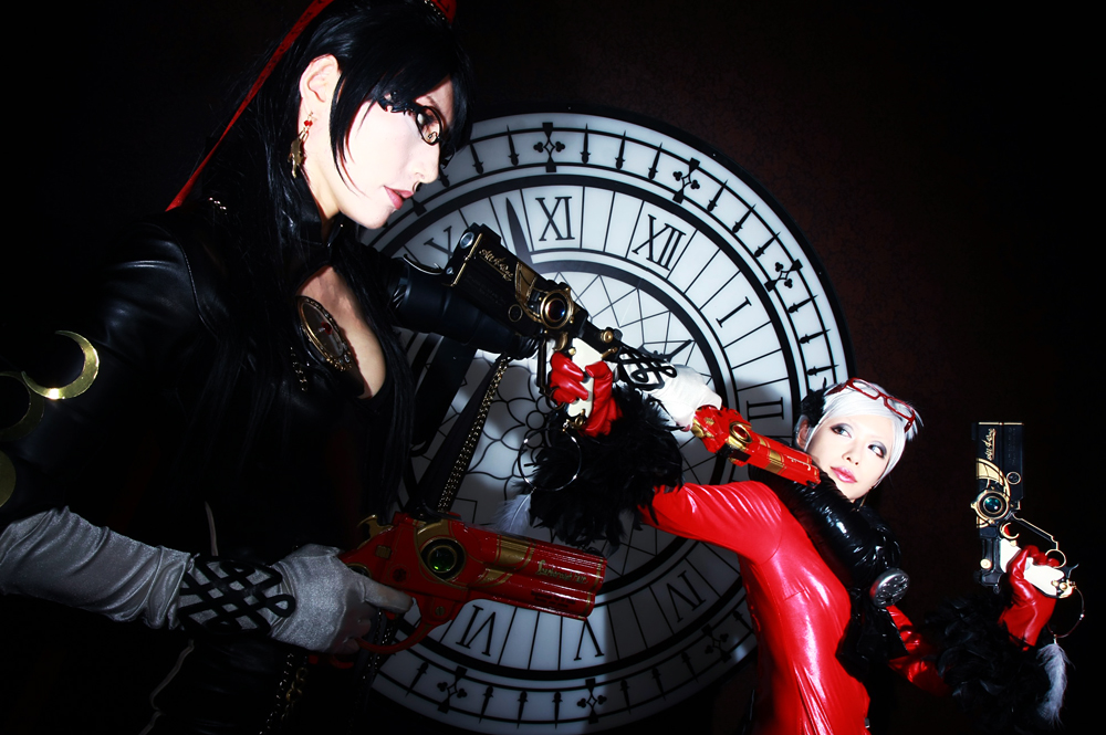 Bayonetta and Jeanne by aoi-takamura
