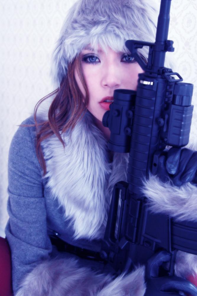 jessica sherawat cosplay Resident Evil Revelations by aoi-takamura