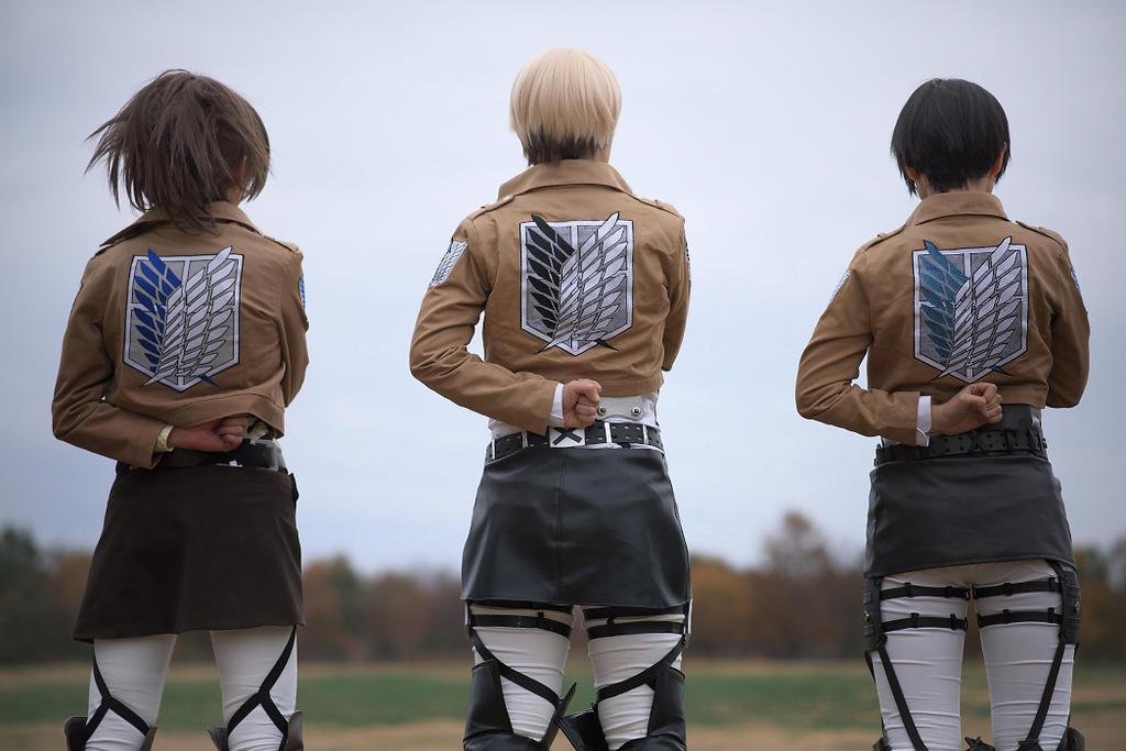 Attack on Titan by aoi-takamura